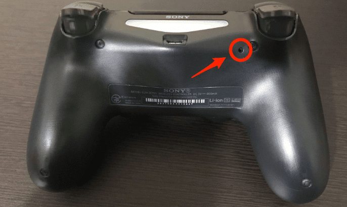 how to reset ps4 controller