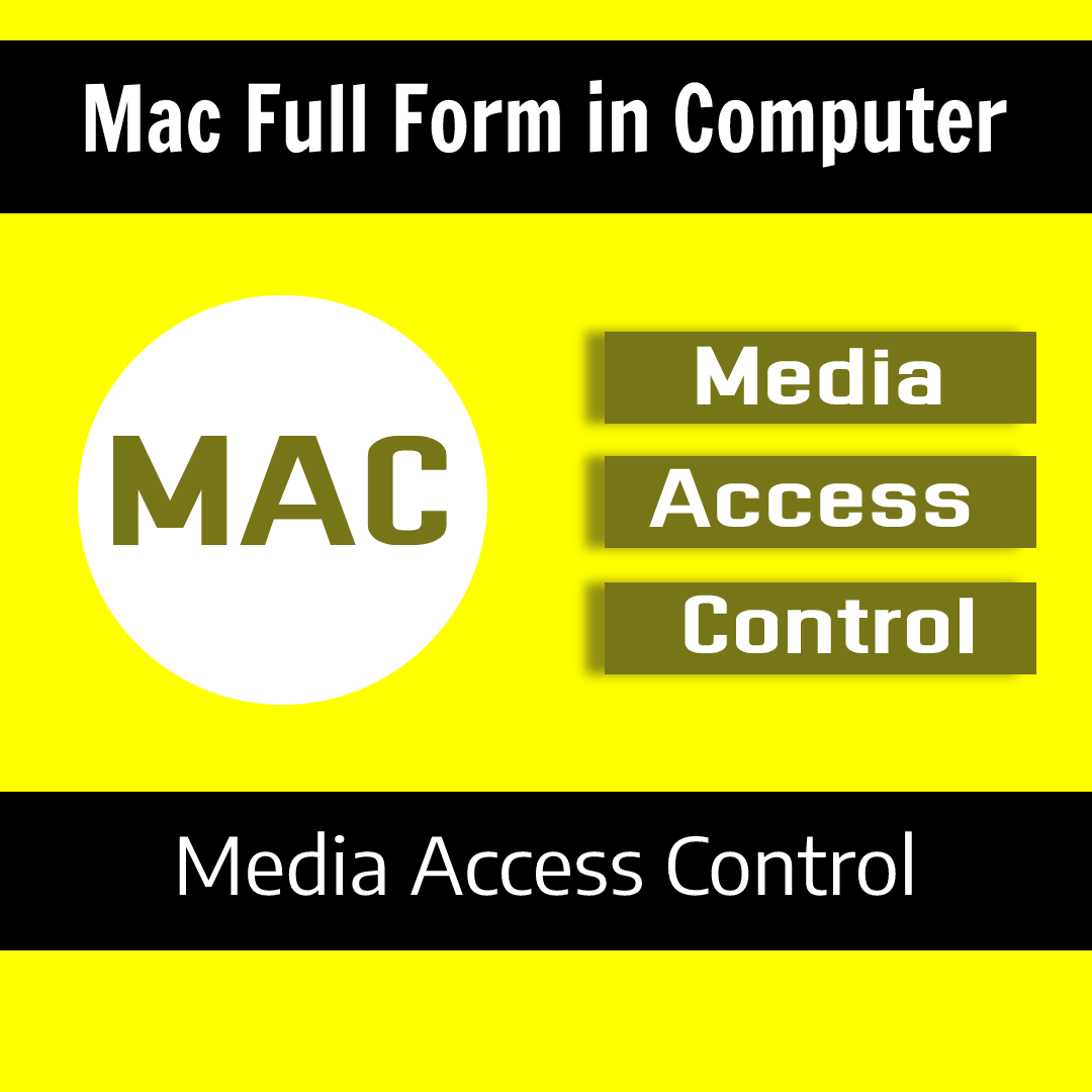 Mac Full Form in Computer